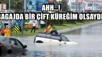 İSTANBUL YİNE SULAR ALTINDA!