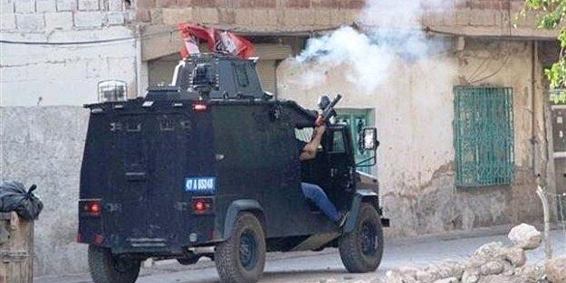 MARDİN'DE POLİSLERE SİLAHLI SALDIRI
