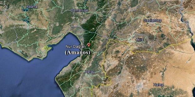 AMANOS'ta HAİN SALDIRI: 'BİR ŞEHİT'