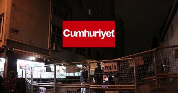 CUMHURİYET GAZETESİ ÖNÜNDE TOMA'LAR