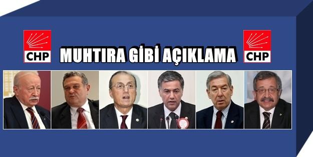 'CHP YÖNETİMİ ÇOK ÖNEMLİ SİYASAL HATALARA İMZA ATMIŞTIR!'