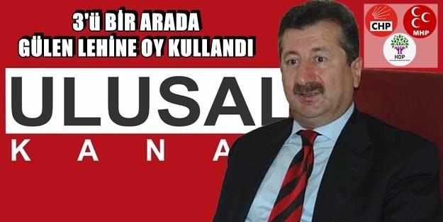 RTÜK'TEN ULUSAL'A 'FETÖ' CEZASI, ÜSTELİK CHP-MHP-HDP İMZALARIYLA!