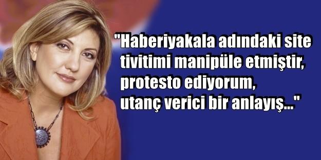 NEVVAL SEVİNDİ: 'O SİTEYİ PROTESTO EDİN'