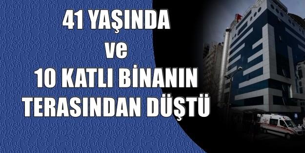 ŞİŞLİ'de PLAZA'da ŞOKE EDEN ÖLÜM!