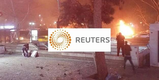 REUTERS: 'PATLAMA PKK BAĞLANTILI!'