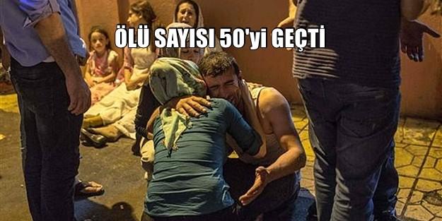 EMPERYALİZMİN ALÇAK BOMBASI GAZİANTEP#039;te PATLADI