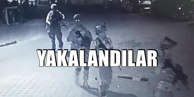 KISTIRILAN DARBECİ ASKERLER YAKALANDI