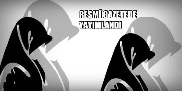 VE TSK'da TÜRBAN KARARI..!