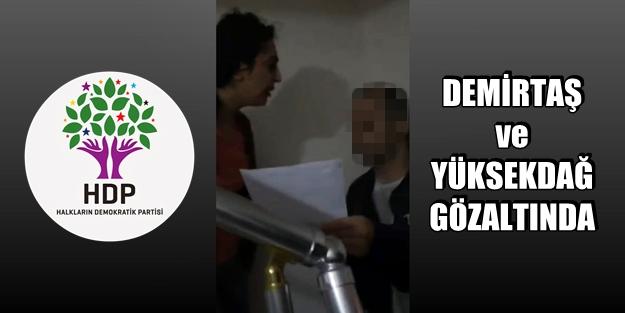 HDP'ye BÜYÜK OPERASYON
