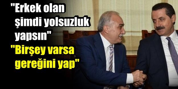 'TEKE ZORTLATMASI' DEĞİL 'BAKAN KAPIŞMASI'