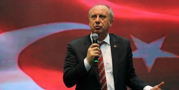 MUHARREM İNCE: 'ADAYLARLA TELEVİZYONDA TARTIŞALIM'