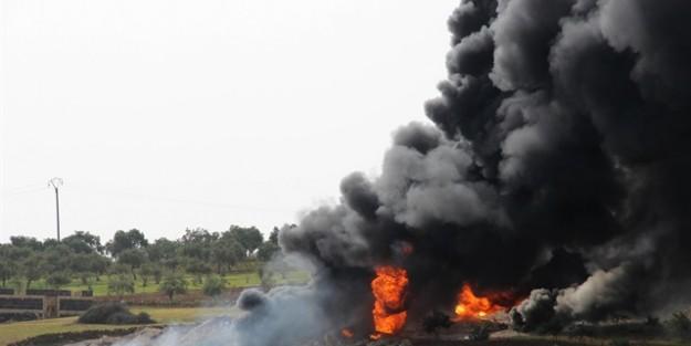 İDLİB'de BOMBALI SALDIRI