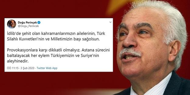 'PROVOKASYONLARA KARŞI DİKKATLİ OLMALIYIZ'