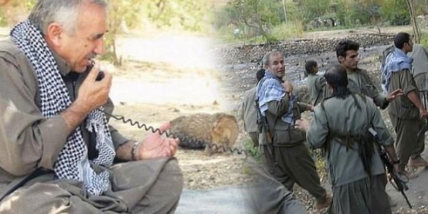 PKK#039;lılarBİRBİRİNE DÜŞTÜ