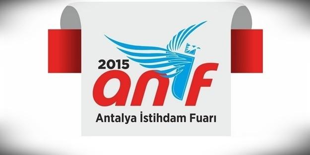 ANTALYA'da İŞ FIRSATLARI ZİRVESİ 'ANİF 2015'