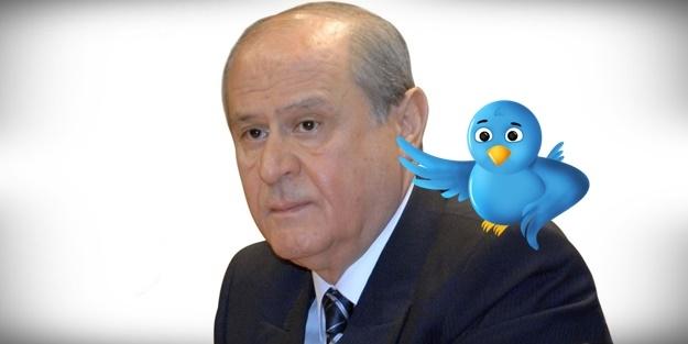 BAHÇELİ, TWITTER'dan BOMBALADI