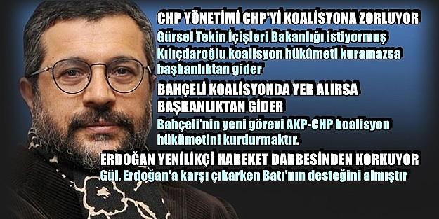 BATI DESTEKLİ GÜL, ERDOĞAN'a MUHALEFET BAYRAĞINI AÇMIŞTIR!