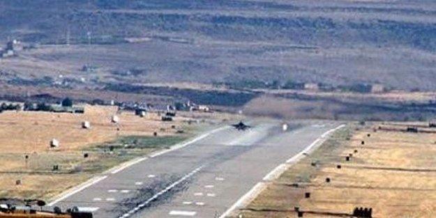 DİYARBAKIR'da F-16'lara ATEŞ AÇILDI