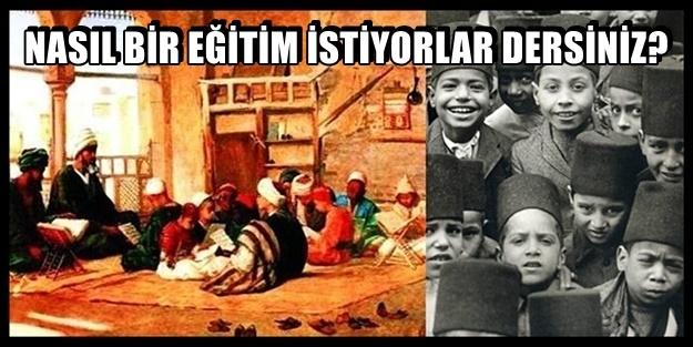 'EĞİTİMİ KEMALİZM'DEN ARINDIRIN' DİYE MANŞETTEN SAVAŞ AÇTILAR!