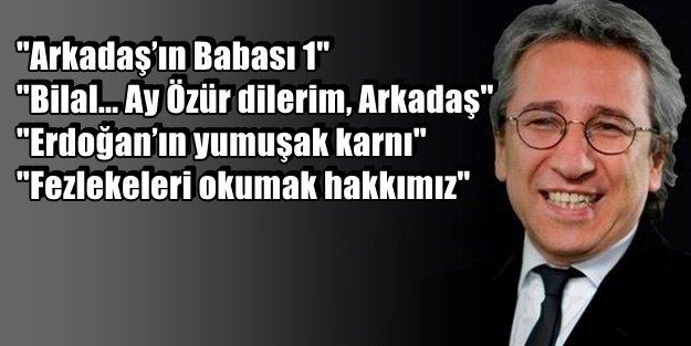 ERDOĞAN'LAR ŞİKAYET ETTİ, CAN DÜNDAR İFADE VERDİ!
