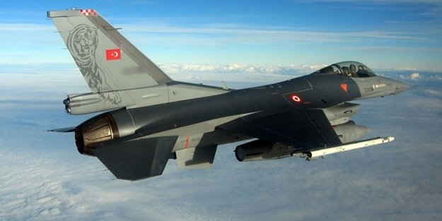 F-16'lar HANGARDAN ÇIKTI: 'RESMEN SAVAŞTAYIZ'