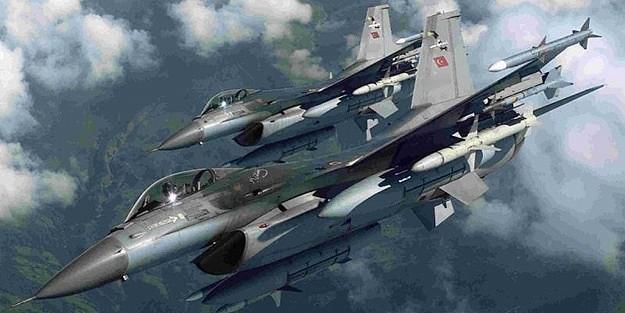 F-16'larla 2.DALGA BOMBA IŞİD ve PKK ÜZERİNE YAĞDI