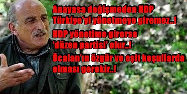 HDP'nin BARAJI AŞMASI KANDİL'e BUNLARI SÖYLETTİ!