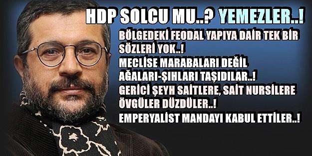 HDP SOLCU MU? YEMEZLER!