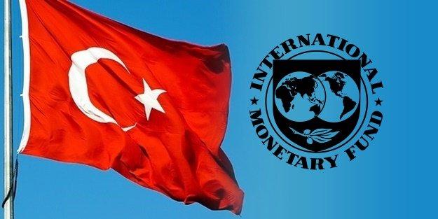 IMF'DEN FLAŞ AÇIKLAMA: 'TÜRKİYE......'