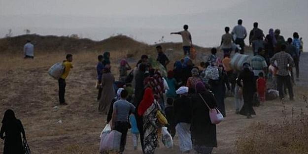 IŞİD SALDIRDI, BİNLERCE KİŞİ KAÇIYOR