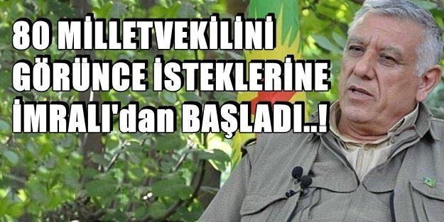 KANDİL BAKLAYI AĞZINDAN ÇIKARDI! 'APO'YA ÖZGÜRLÜK'