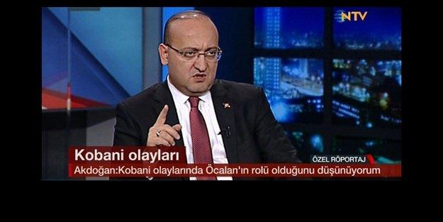 'KOBANİ OLAYLARINDA ÖCALAN'IN ROLÜ VAR!'