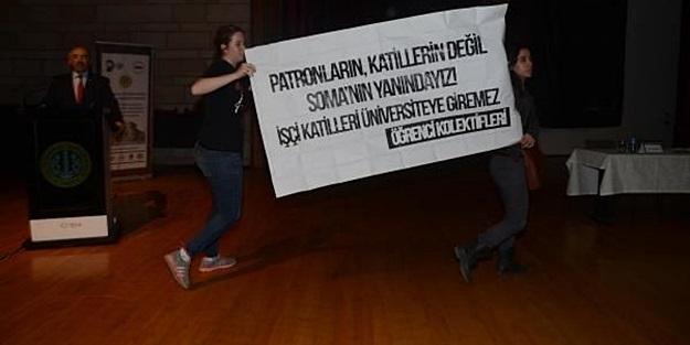 ÖĞRENCİ KOLEKTİFLERİNDEN İ.Ü.'nde YUMURTALI PROTESTO