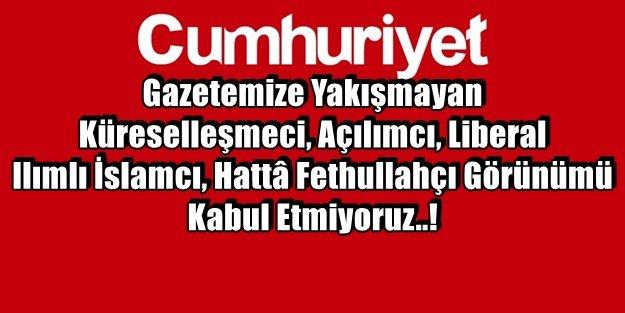 OKURLARINDAN CUMHURİYET'E AĞIR MANİFESTO