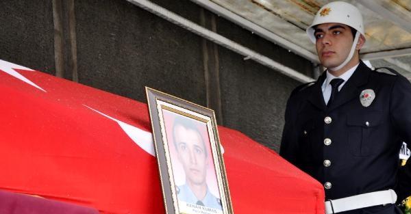 ŞEHİT POLİS 'KUMAŞ', TRABZON'da TOPRAĞA VERİLDİ!