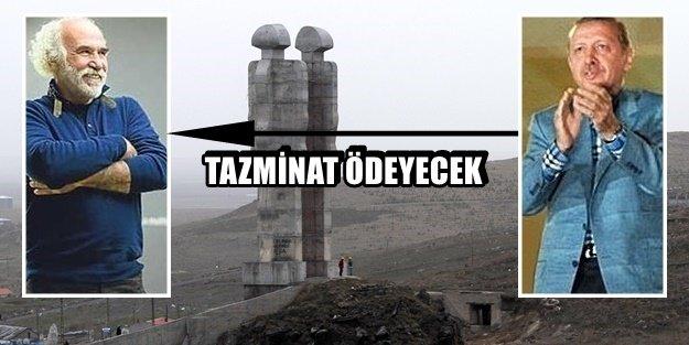 SEN MİSİN HEYKELE 'UCUBE' DİYEN!