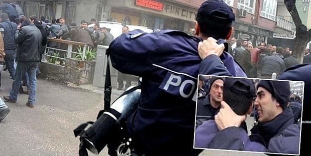 'SIK LA SIK' DİYEN POLİS GÖREVDEN UZAKLAŞTIRILDI