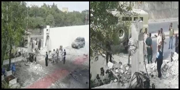 SOMALİ'de TÜRK DELEGASYONA BOMBALI ARAÇLA SALDIRI