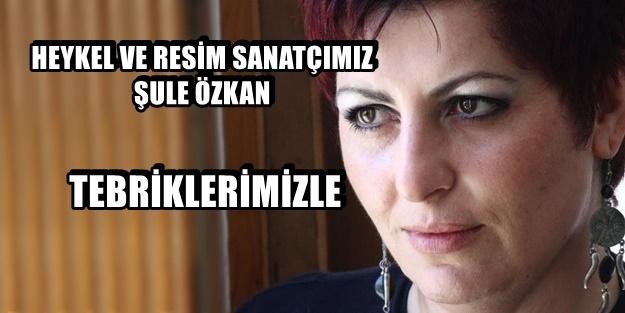 ŞULE ÖZKAN, HEYKEL'DE 'DEVLET ÖDÜLÜ' KAZANDI