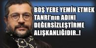 ELİMİ TESTİSİME KOR VE YEMİN EDERİM Kİ..!