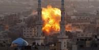 İSRAİL GAZZE#039;yi VURDU