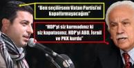 'HDP İÇİN TEK ÇIKIŞ YOLU KENDİNİ DAĞITMASIDIR'