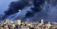 İSRAİL GAZZE#039;yi BOMBALADI