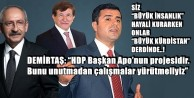 AKP#039;yle KORKUTUP #039;HDP BARAJ AŞSIN#039; DİYENLERE TOKAT GİBİ YAZI!