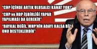 CHP İÇİNDE ARTIK ULUSALCI KANAT YOK!