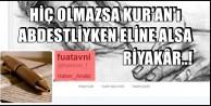 FUAT AVNİ YİNE PATLATTI BOMBAYI!