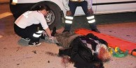 KARAMAN#039;da TALİHSİZ MOTOSİKLET KAZASI