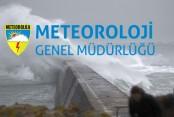 METEOROLOJİDEN KUVVETLİ FIRTINA UYARISI
