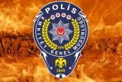BASKINA GİDEN POLİSE ATEŞ AÇILDI