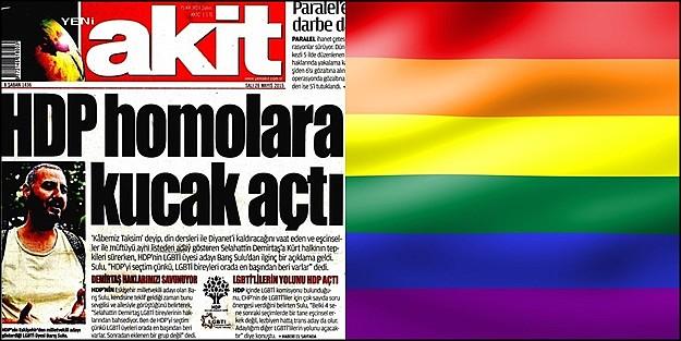 YENİ AKİT BU KEZ LGBTİ'LERE SALDIRDI